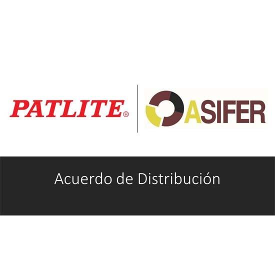 Acuerdo de distribución PATLITE y ASIFER