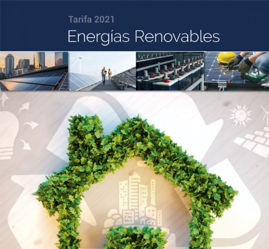 Tarifa Energías Renovables AUNA 2021