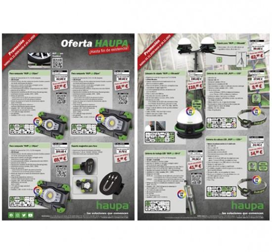 Ofertas en Lámparas de cabeza LED de la gama Focos HUPlight