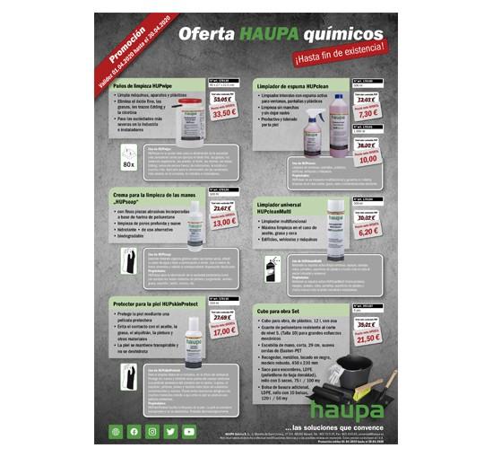 Ofertas en químicos de la marca HAUPA