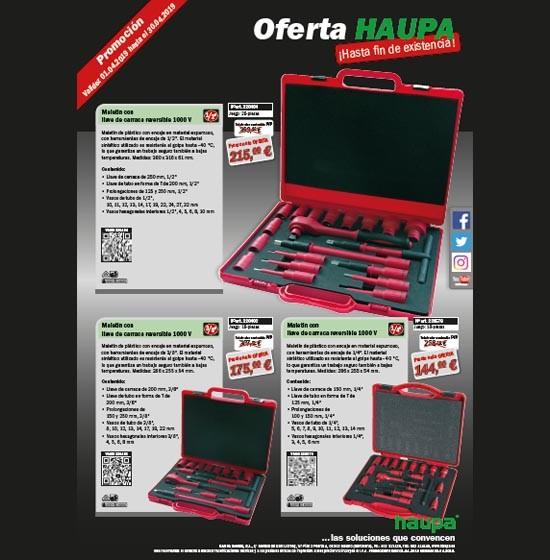 Oferta  en maletines para herramientas de HAUPA