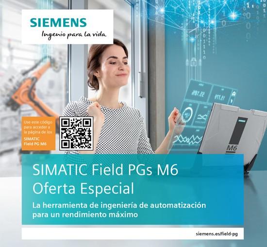 Oferta Especial SIEMENS - SIMATIC Field PGs M6