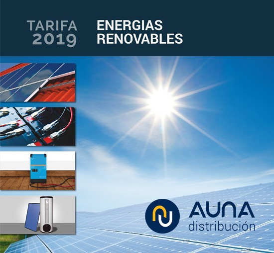 Tarifa Energías Renovables AUNA 2019